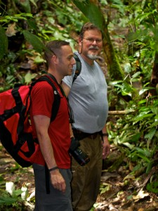 Aaron and Mike at Madre Selva.